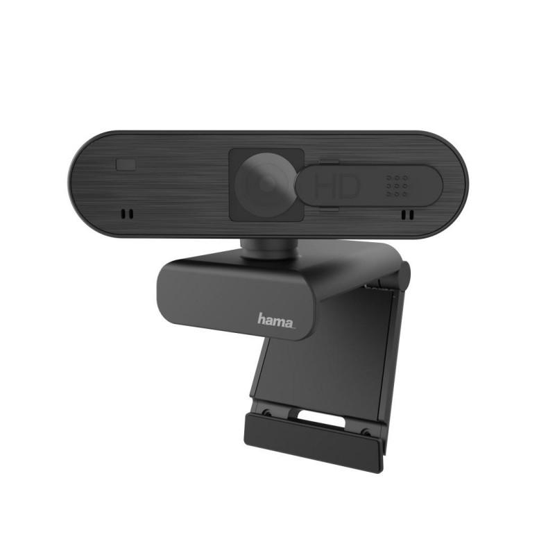 Уеб камера HAMA C-600 Pro, full-HD, стерео микрофон, 1080p,Черна