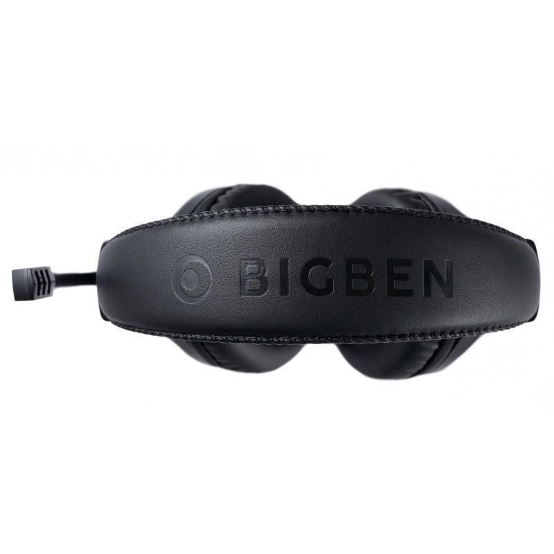 Геймърски слушалки Nacon Bigben XBox X Official Headset V1 Black, Микрофон, Черен