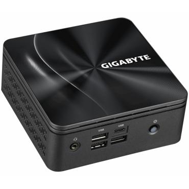 Настолен компютър Gigabyte Brix BRi7H-4800, AMD Ryzen 7 4800U, 2 x SO-DIMM DDR4, M.2 SSD, USB Type-C™, WiFi 6 +BT, black