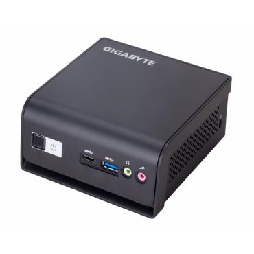 Настолен компютър Gigabyte Brix  Intel® Celeron® N4500up to 2.8 GHz, 1 x SO-DIMM DDR4; m.2 SSD; Wi-Fi